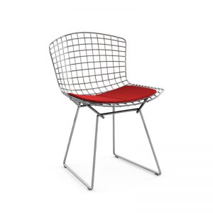 chaise-bertoia-rouge-knoll 1