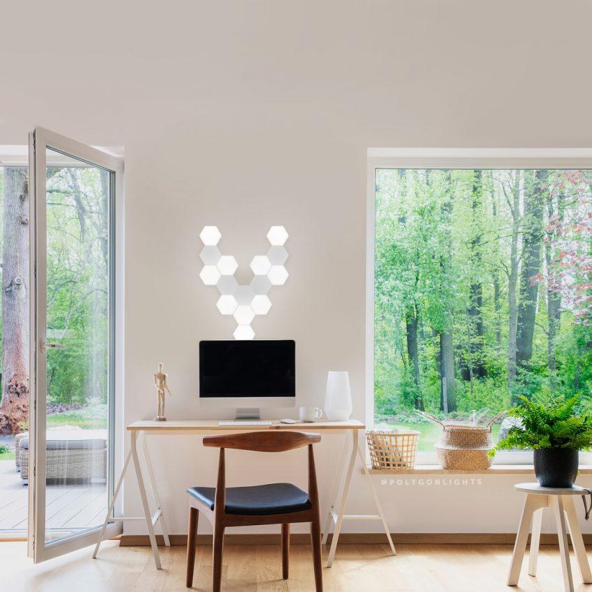 Aménager son bureau avec des lampes originales et modulables