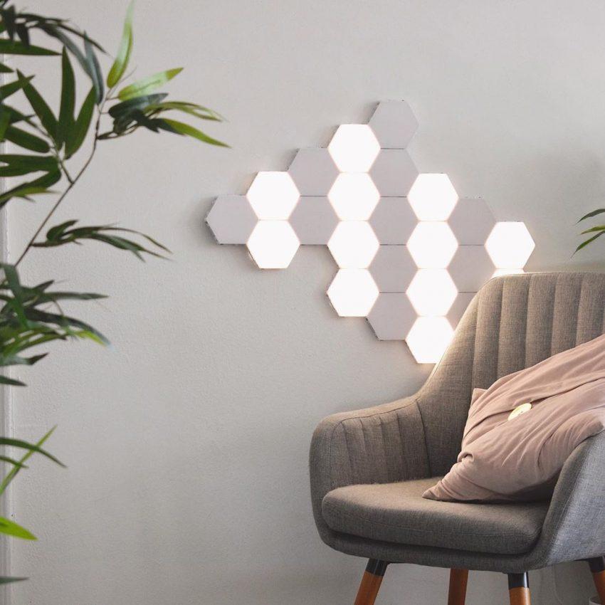 Les lampes polygon sont tendances