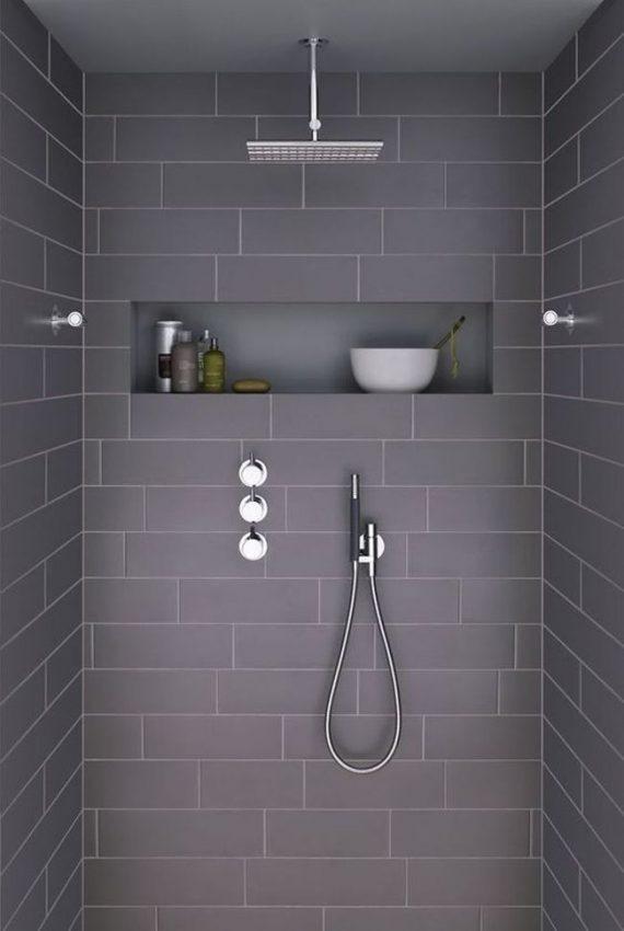 Niche dans une douche